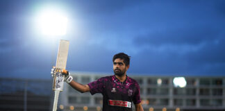 English Cricket Counties Babar Azam batting in the T20 Blast 2019