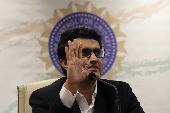 Sourav Ganguly is the current president of the BCCI