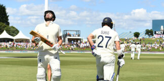 Rory Burns and Dom Sibley are currently England's test match openers
