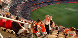 The Optus Stadium in Perth is among the top 5 biggest Cricket Grounds in the world as of 2020