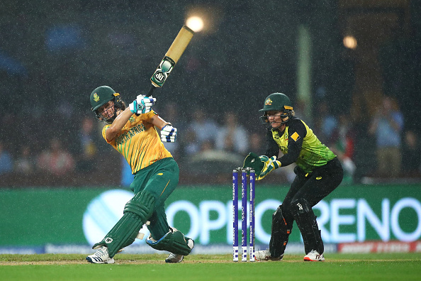 The ICC World Twenty 20 2020 semi-final Australia vs South Africa at Sydney