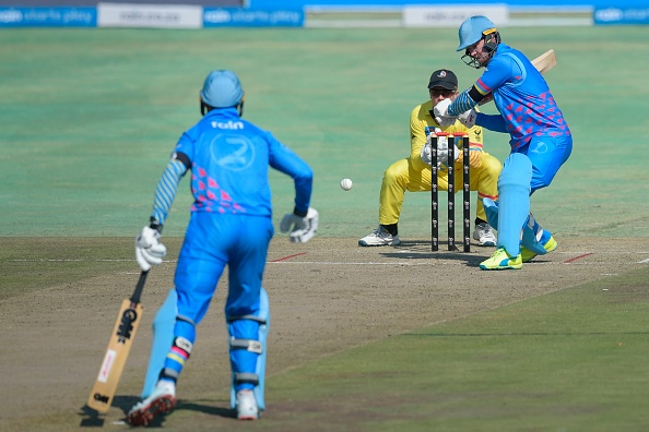 AB De Villiers smashed 61 from just 24 balls in the 3TC and Solidarity Cup