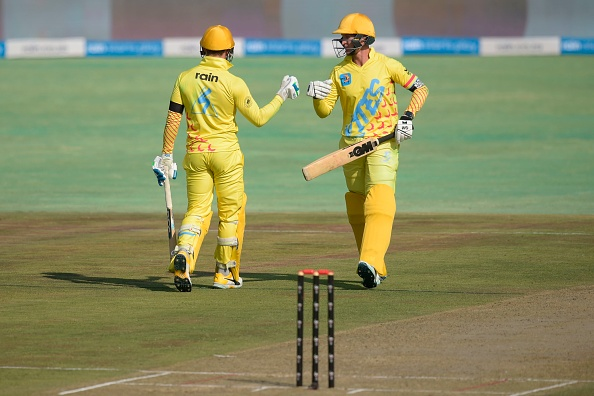 Dwaine Pretorius batted well with David Miller in the 3 Team Cricket Compeititon