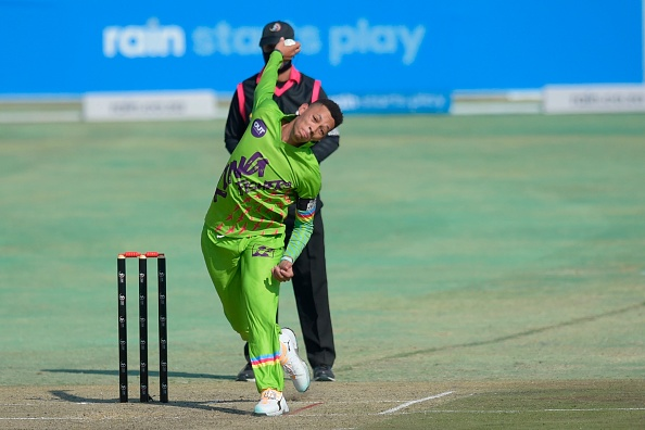 Thando Ntini bowled well for the KG's Kingfishers in the 3TC Competition