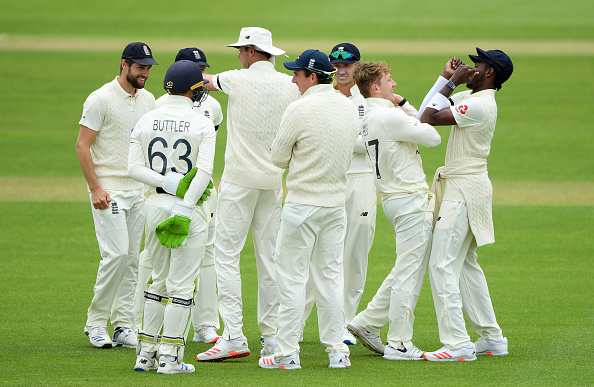 England Squad picked for the first test against the West Indies at the Rose Bowl on the 8th of July 2020.