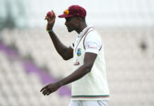 Eng vs WI Day 2 Jason Holder took 6 wickets with the ball at the Ageas Bowl in Southampton