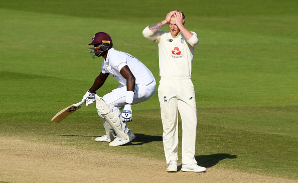 Ben Stokes left Stuart Broad out and the West Indies won at the Ageas Bowl