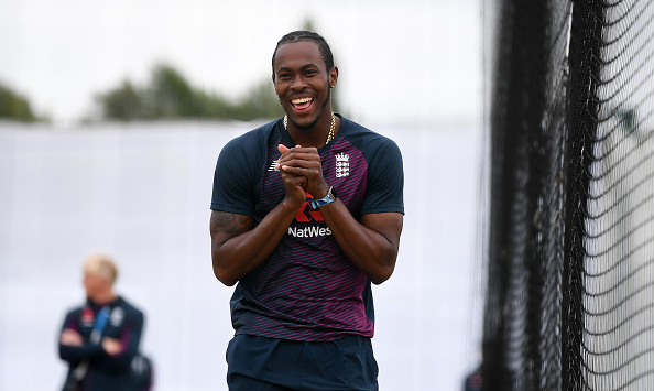 Jofra Archer excluded from the second test match against the West Indies at Old Trafford. England Cricket.