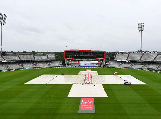 England vs West Indies day four at the Emirates Old Trafford was washed out due to rain