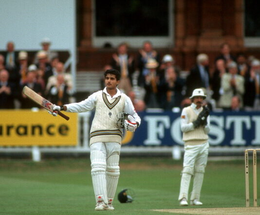 Sourav Ganguly is one of 15 Indian Cricketers who have scored test centuries on debut