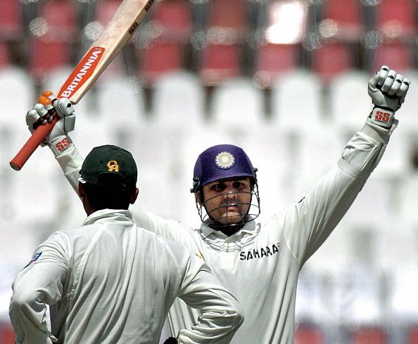 Indian Cricket Team Virender Sehwag scores a triple century at Multan 2004 vs Pakistan