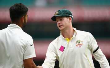 Steve Smith and Virat Kohli are the two best test batsmen in the world in 2020 test match cricket
