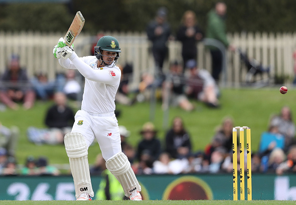 Quinton De Kock is the only current player to make it into the best South African test XI of all-time.