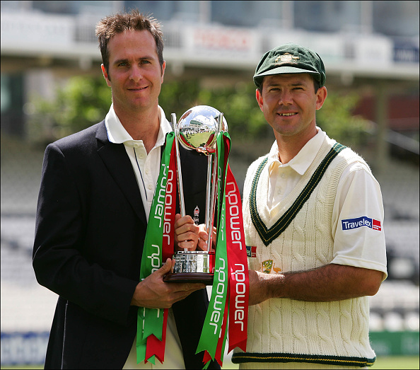 Ricky Ponting and Michael Vaughan are two of the most successful Ashes captains in test match cricket history.