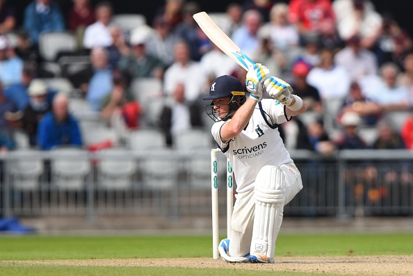 Ian Bell Cricketer bats in the County Championship 2017