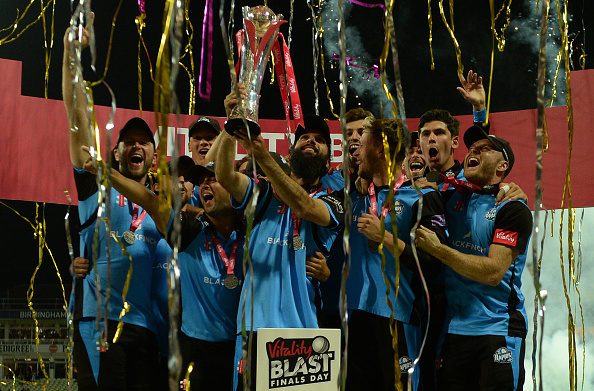 The T20 Blast Schedule has been confirmed by the ECB