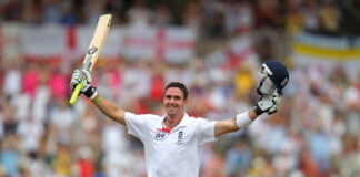 Kevin Pietersen scored a superb 227 vs Australia at Adelaide in 2010, making it one of his best inningsthe best test match innings ever played in the Ashes