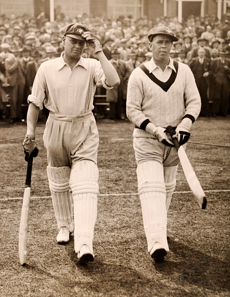 Sir Donald Bradman and his 254 was set up by the openers Bill Ponsford and Bill Woodfull