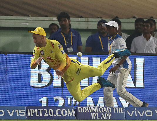 Faf Du Plessis is one of the best fielders in IPL history.