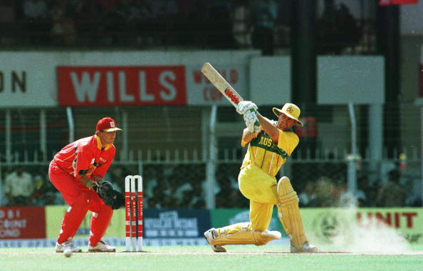 Australia were one of the favourites going into the 1996 Cricket World Cup