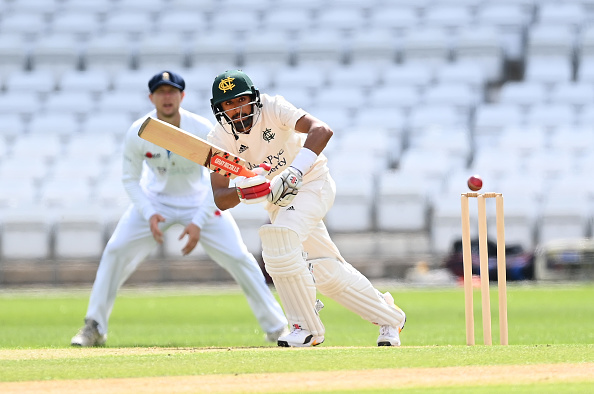 Haseeb Hameed has looked in great form for Nottinghamshire in the Bob Willis Trophy