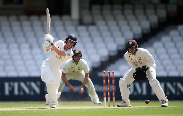 Nick Gubbins made 192 in the Bob Willis trophy county championship 2020