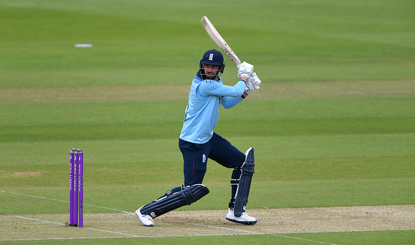 James Vince had a poor England v Ireland series nicking off multiple times.