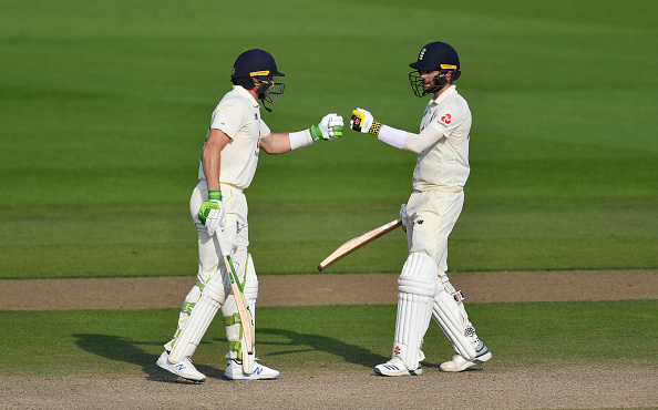 England were inspired by Jos Buttler and Chris Woakes on the fourth day of the first test at Manchester 2020.