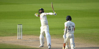 Chris Woakes was the star of the show for England. He and Jos Buttler put on a 139 run partnership to help the hosts to a 3 wicket victory over Pakistan at Emirates Old Trafford.