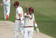 Jamie Overton starred with both bat and ball in the Bob Willis Trophy versus Somerset
