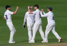 George Garton starred in the third round of the Bob Willis Trophy 2020