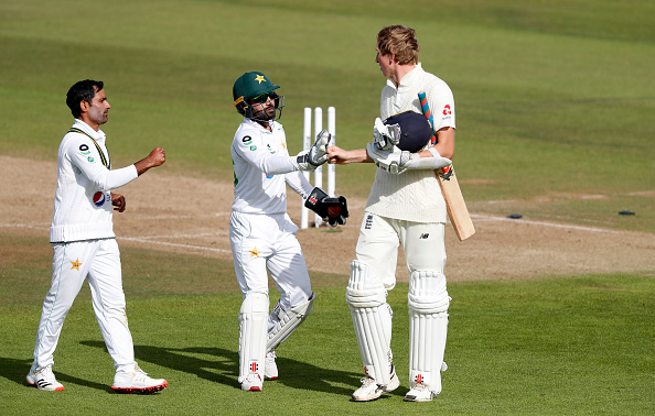 England dominated Pakistan thanks to a superb 267 by Zak Crawley