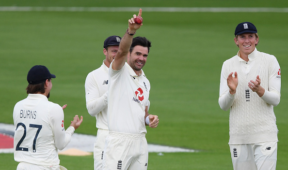 Jimmy Anderson is the best seam bowler in the world and is an all-time test match great for England.