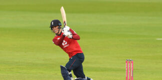 England collapsed against Pakistan in the First T20 at Emirates Old Trafford against Pakistan, despite Tom Banton making 71
