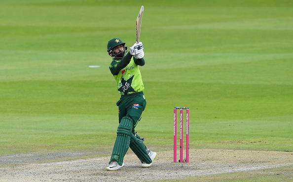 Mohammad Hafeez struck a superb half-century in the second T20 international