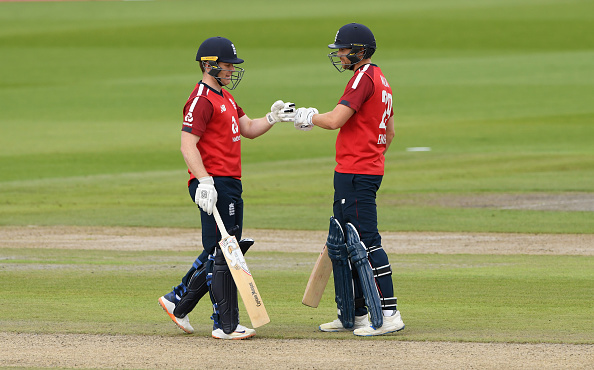 Captain Eoin Morgan and Dawid Malan were the stars for England versus Pakistan as the T20 Team chased down 196