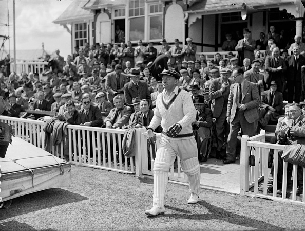 Sir Donald Bradman scored a superb 254 vs England in the 1930 Ashes