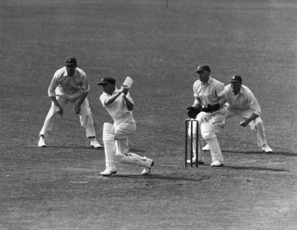 Sir Donald Bradman scored a superb 254 vs England