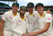 Nathan Lyon, Pat Cummins, Mitchell Starc and Josh Hazlewood could become one of the best bowling attacks of all-time in test match cricket for Australia