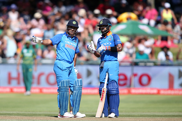 The most successful batting pairs in ODI Cricket for India.