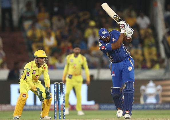 Kieron Pollard will be available to face CSK for MI