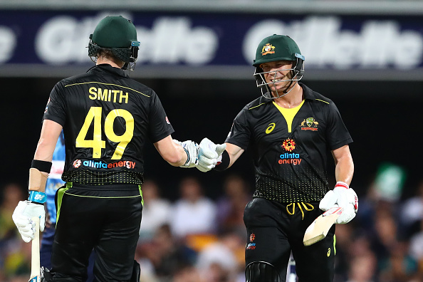 Steve Smith and David Warner make a formidable duo for Australia in T20 Cricket