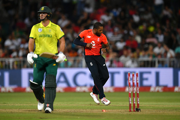 Chris Jordan has been superb at the death for England Cricket in T20 Cricket leading up the World Cup.