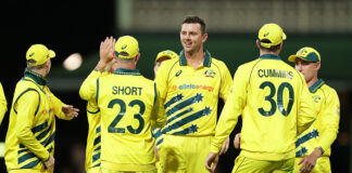 Riley Meredith, Josh Philippe and Daniel Sams are all in the Australian ODI Squad