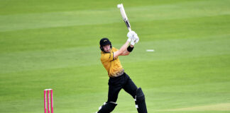 Gareth Delany of Ireland scored a superb half-century for dark horses Leicestershire Foxes against Durham