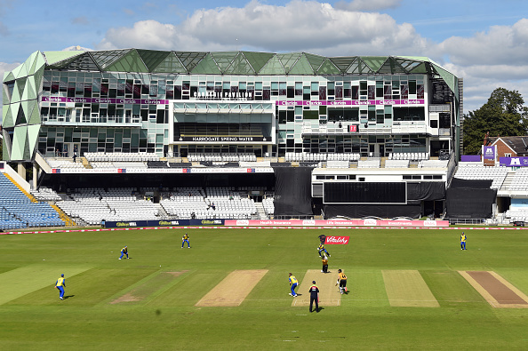The Leicestershire Foxes beat Durham at Leeds