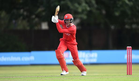 Keaton Jennings scores a century for Lancashire Lightning in the Vitality T20 Blast