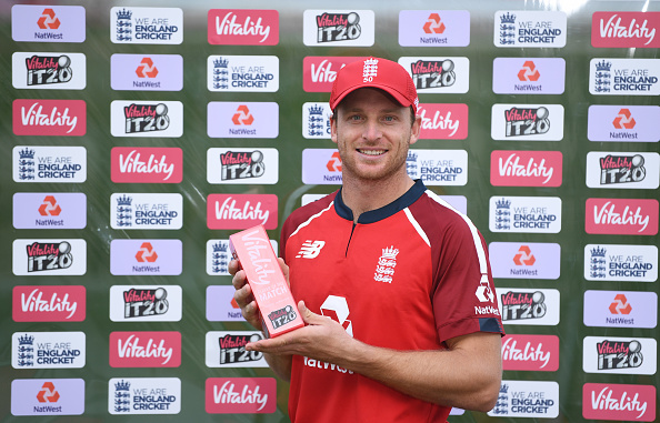Jos Buttler was the man of the match in 2nd T20I between England and Australia at the Ageas Bowl