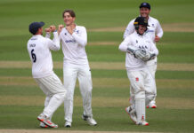 James Coles made a bright debut for Sussex CCC vs Surrey CCC in the Bob Willis Trophy 2020