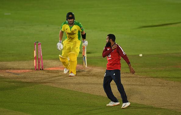 Adil Rashid picked up three wickets for England
